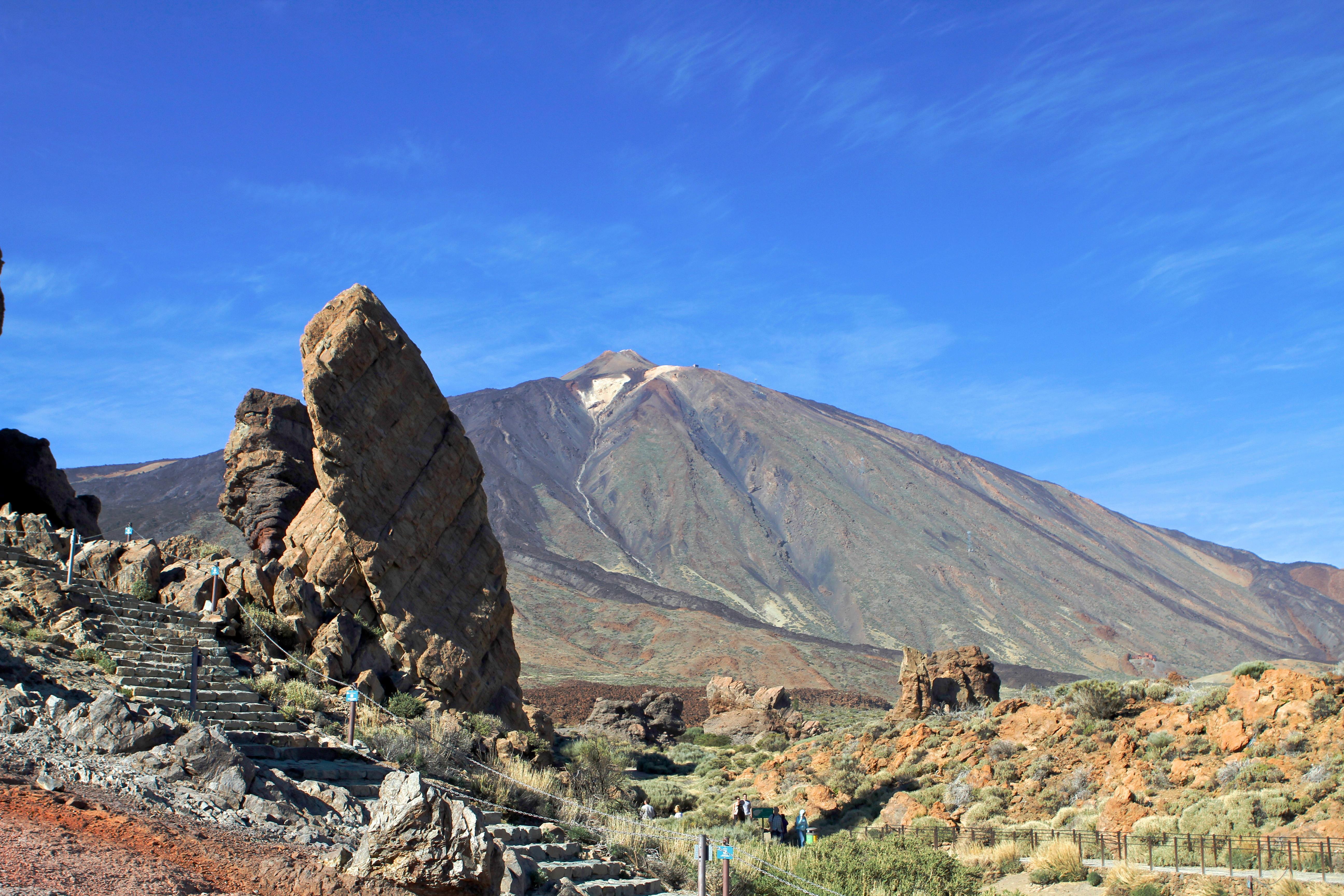 Isla de Tenerife. Parque Nacional de las Cañadas del Teide. El