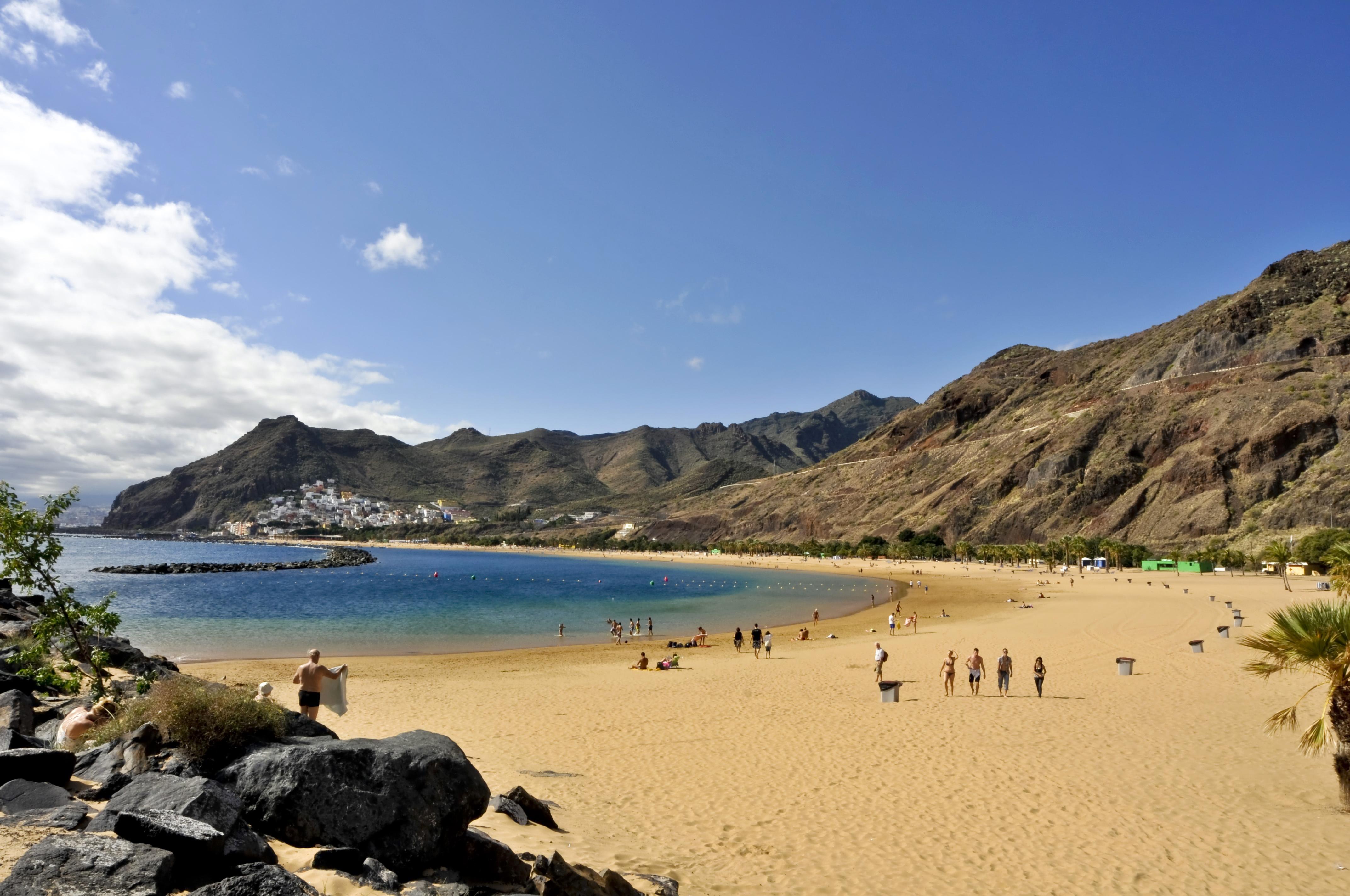 San Andrés (Santa Cruz de Tenerife) (Isla de Tenerife). Playa d