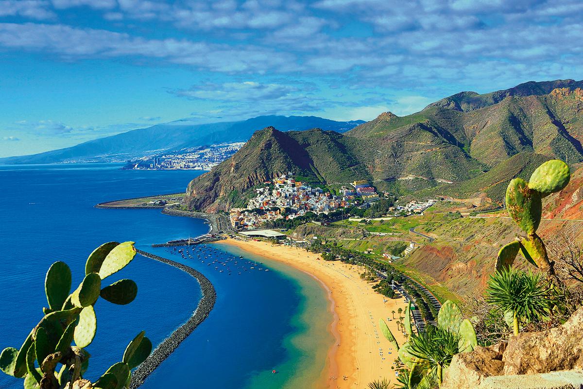 Spain, Canary Islands, Tenerife Island, San Andres City, Las Ter